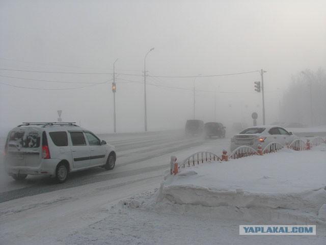 Сургут 01.02.2019, несколько фотографий