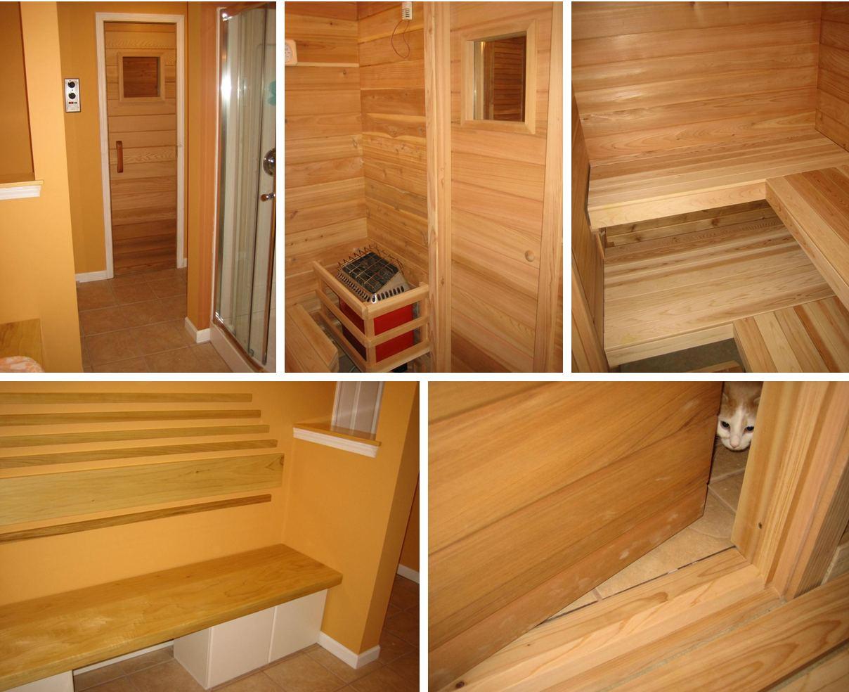 Как оборудуется баня в гараже своими руками sdelai garazh 89