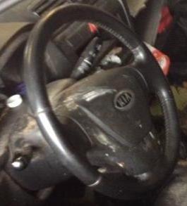 фото фрау в машине