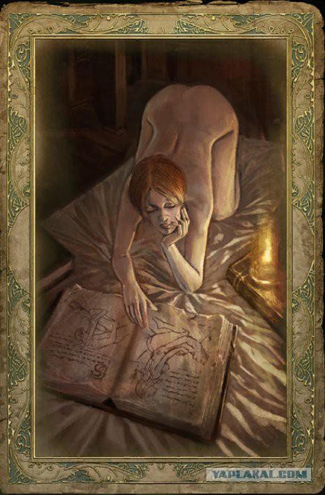 Косплей на Шани,по мотивам карт из Ведьмака 16+