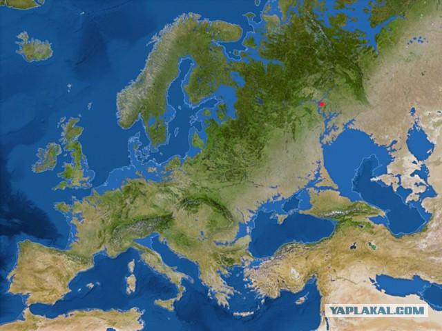 Географы создали карту Всемирного потопа
