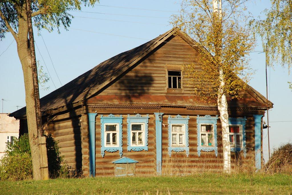 Деревенские дома фото