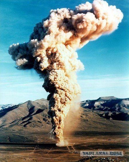 Подземные ядерные взрывы (7 фото)