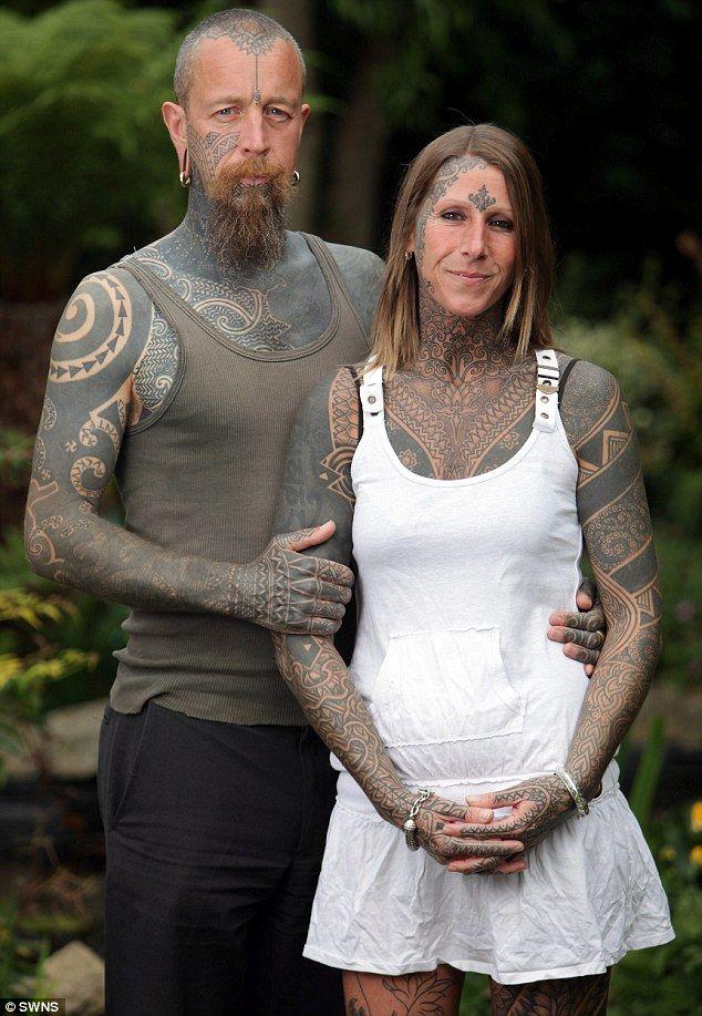 Татуировки на всем теле девушек порно 21 фотография