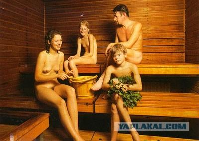 молоды девочки голое в бане
