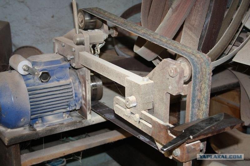 Как сделать шлифовальный станок по металлу