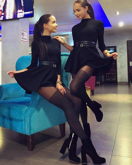 Близняшки-модели из Казани