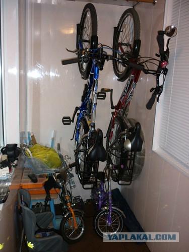Где хранить велосипед в хрущевке - Яплакалъ.