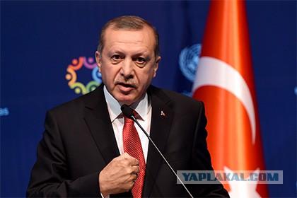 Президент Турции Эрдоган направил телеграмму российскому коллеге Владимиру Путину