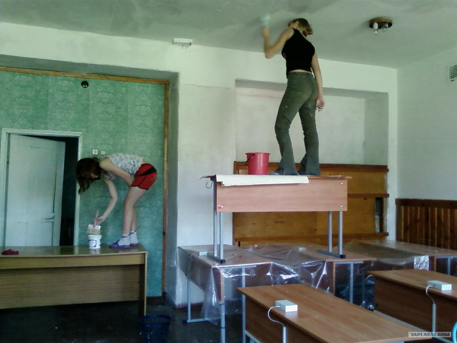 Ремонт в классе своими руками