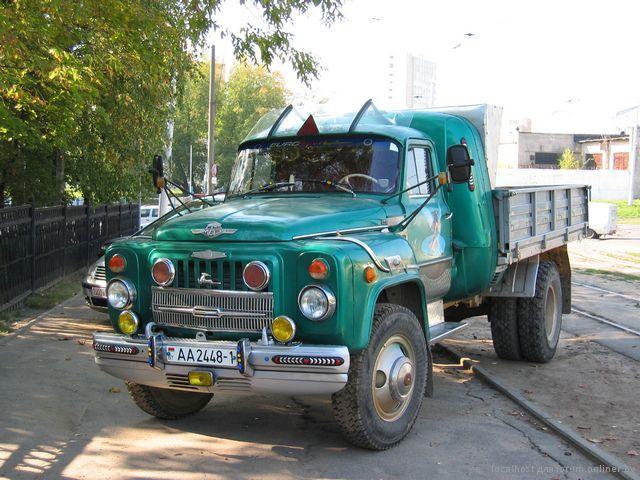 грузовики фото зил