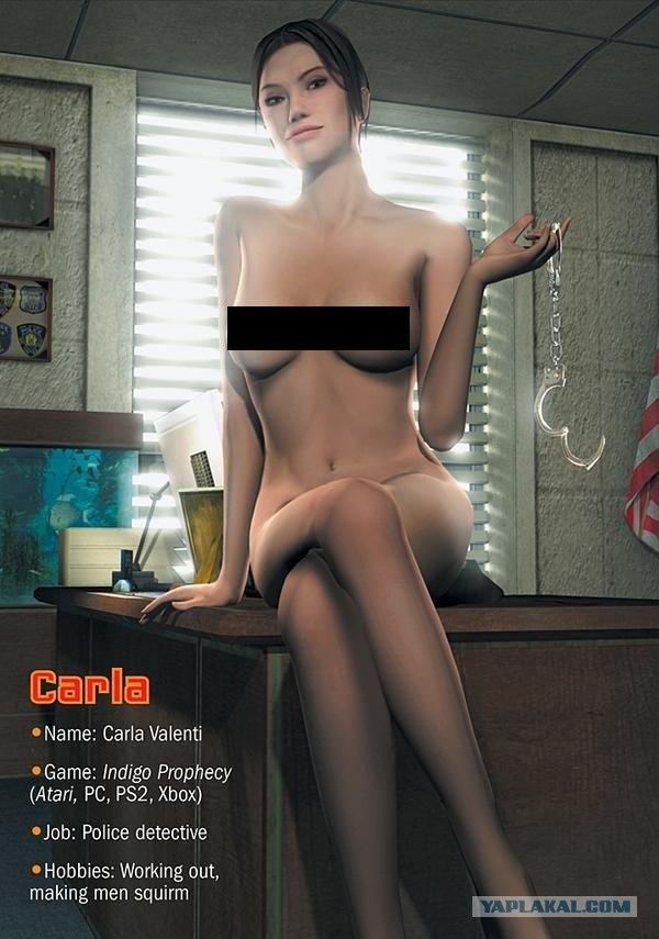 Компьютерные рисунки девушек голые