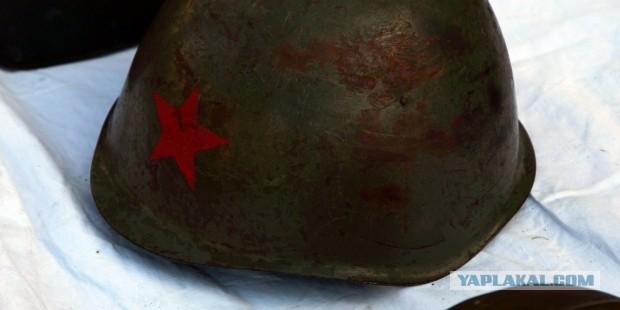 Военные каски разных стран времен Второй Мировой Войны и немного ранее