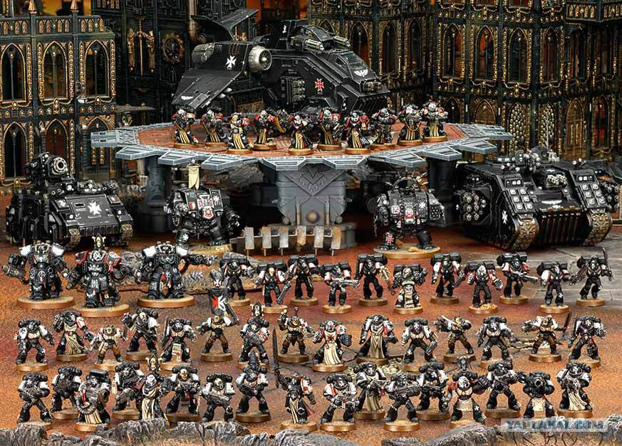 Black templars army