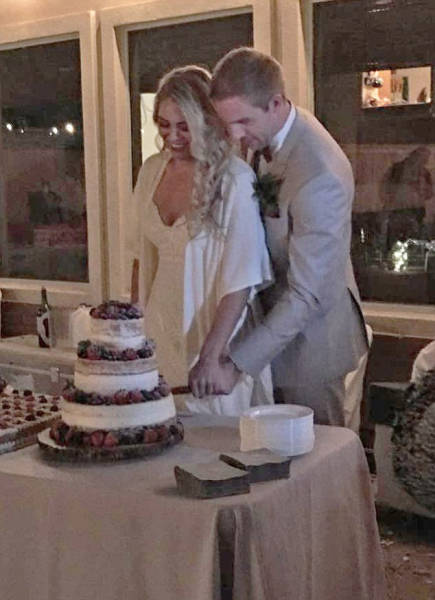 Девушка решила похудеть к свадьбе и ей это удалось