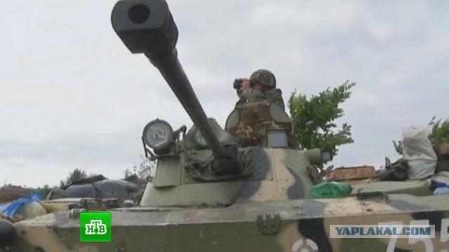 Украинская армия бросила на Луганск 70 танков