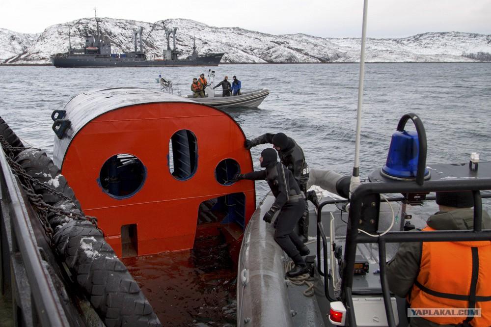 спасательные капсулы подводных лодок видео