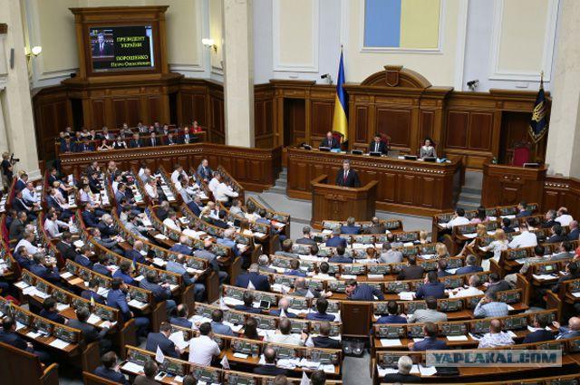 На Украине приняли закон об исключительности украинского языка