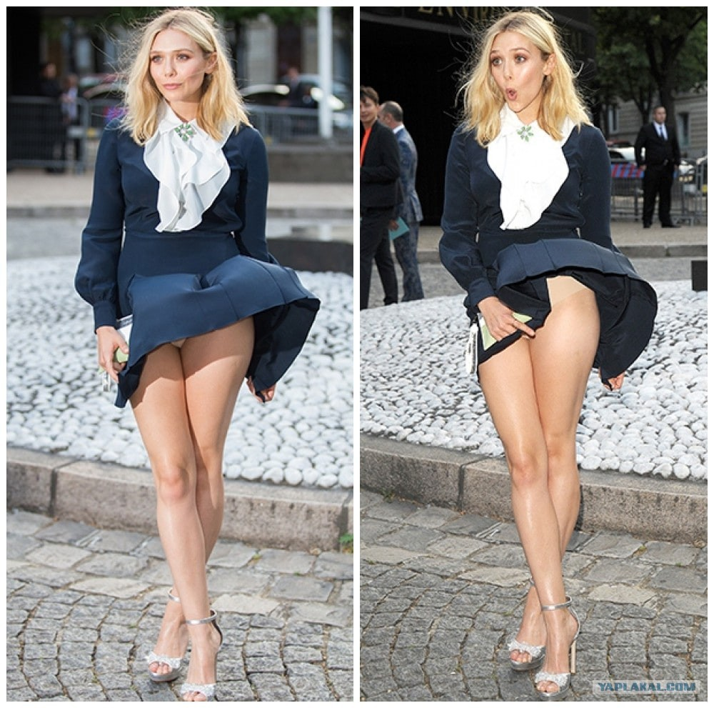 Hot blonde bombshell in short dress flashing hot ass in naked upskirt outside № 119761 бесплатно
