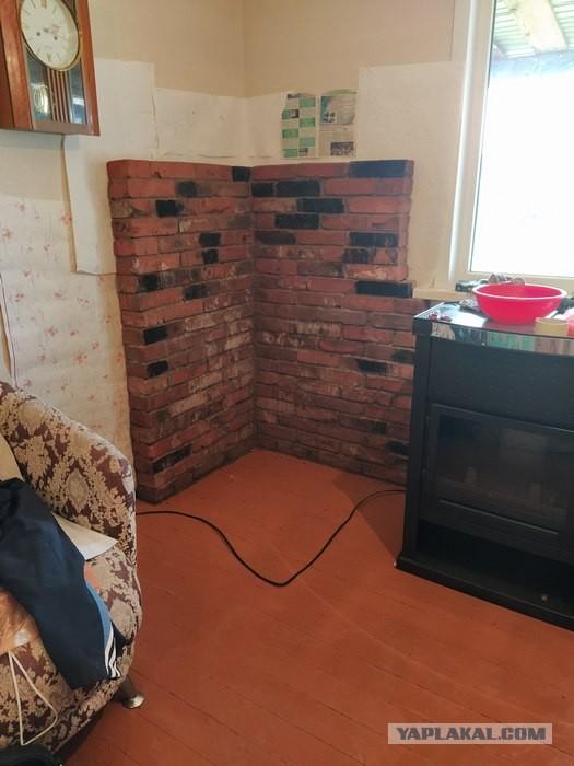 Печь-камин в доме