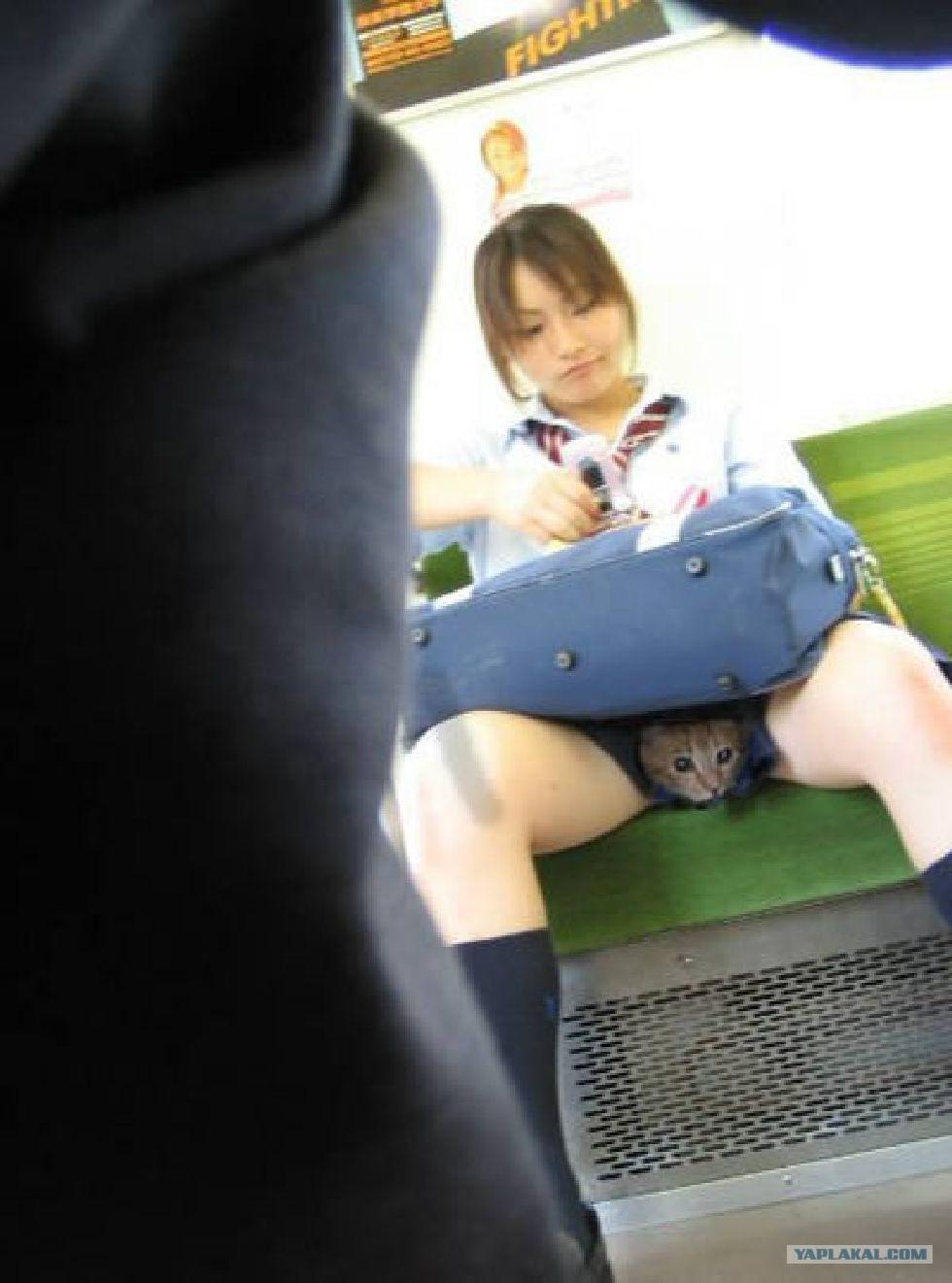девочка ласкает себя через одежду