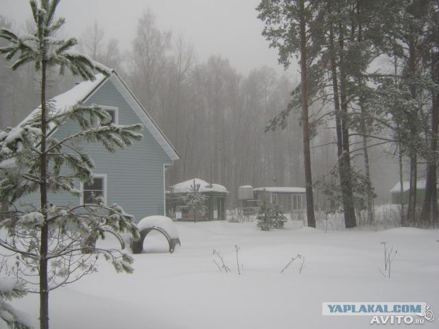 Зимняя дача фото