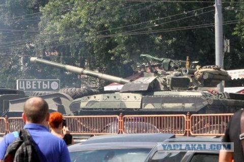 В Киев введены танки для зачистки майдана