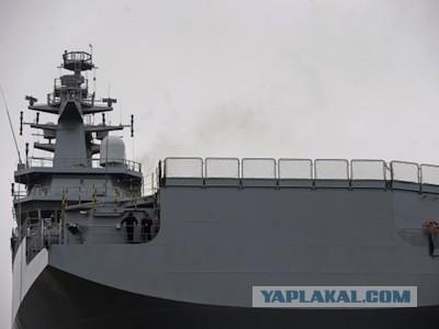 Российский экипаж «Мистраля» покидает Францию