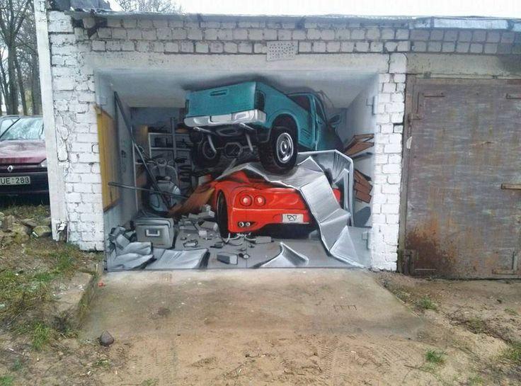 Покрасить в гараже своими руками 46