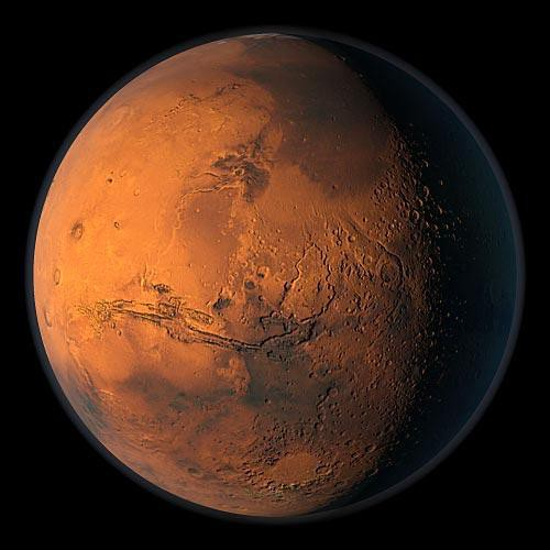 Искусственные объекты Марса