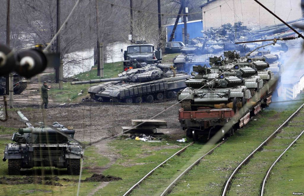В 2014 году в Крыму людей хотели расстреливать из танков