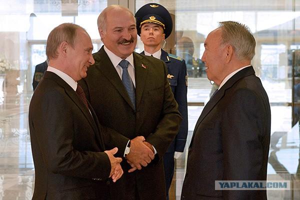 Путин против Назарбаева