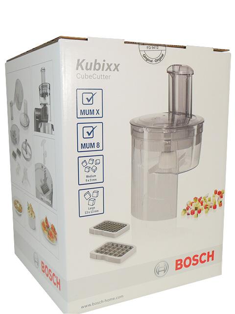 Насадка кубикорезка MUZ8CC2 для кух/комб Bosch MUM 8 / Bosch MUM X