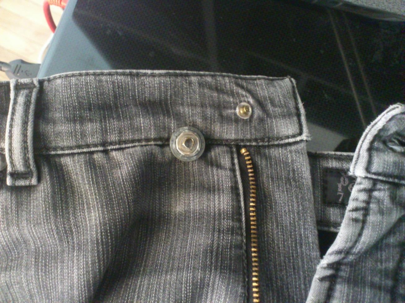 Ремонт пуговицы на джинсах своими руками 50