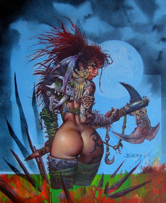 Картинки в стиле - Horror Art & Fantasy