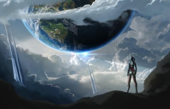 фантастика рисунки иные миры