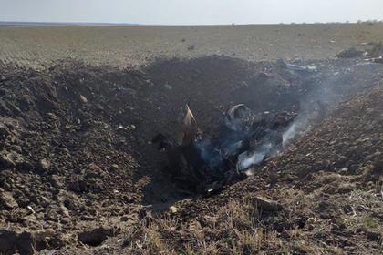 В Ставропольском крае разбился штурмовик Су-25УБ