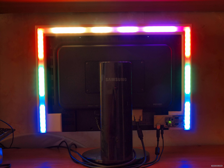 Как сделать подсветку ambilight