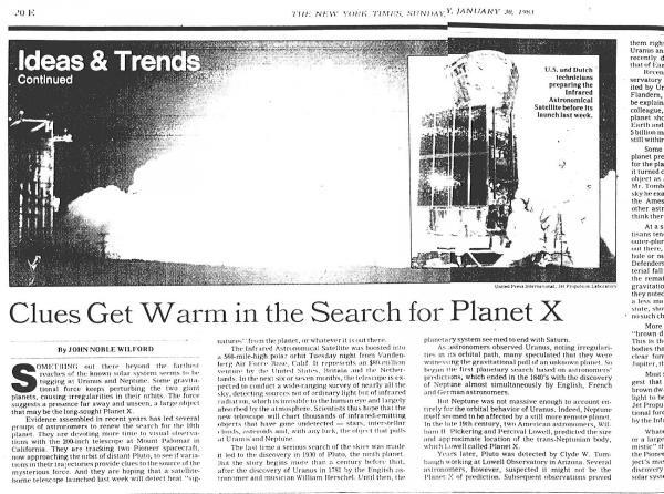 Планета Х обнаружена