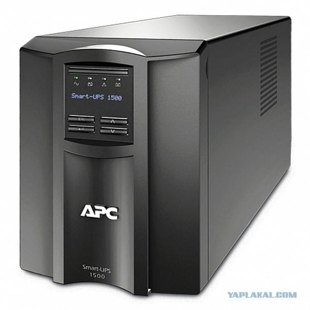ИБП APC Smart T1500 230V (SMT1500I) Москва