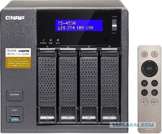 Сетевое хранилище QNAP TS-453A-4G или 8G