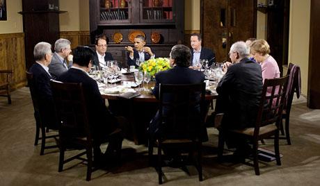 Семь стран G8 заморозили подготовку к Сочи