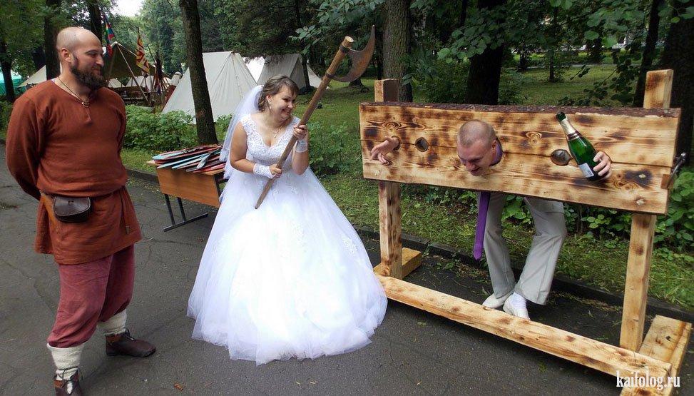 Интересные свадебные сценарии с приколами