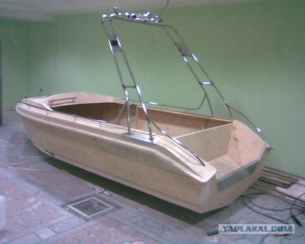 Тент для лодки своими руками
