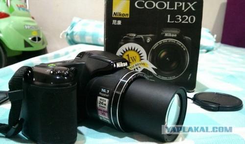 Nikon coolpix L320 26х зум