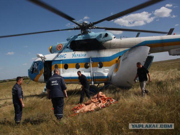 Украина потеряла ещё один вертолет.