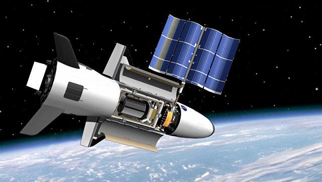 Запуск ракеты Falcon 9 c американским «мини-шаттлом»