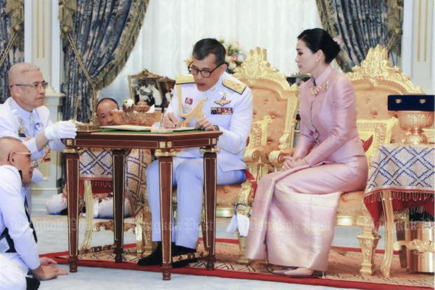 Король Таиланда женился на генерале — начальнике его охраны