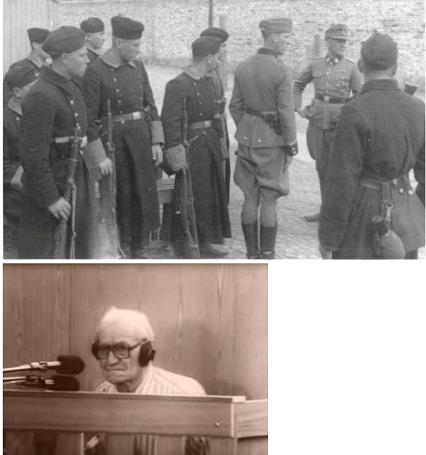 После прочтения обвинительного заключения этому дедушке раздавались возгласы «разорвать на части».Симферополь, 1986 г.