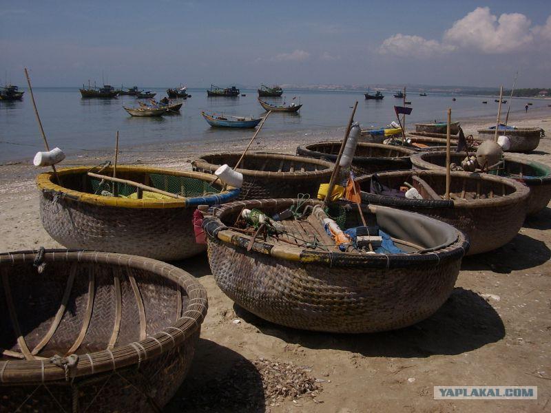 круглые лодки во вьетнаме название